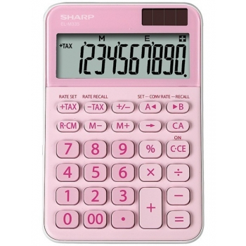 Lauakalkulaator Sharp EL-M335B-PK Roosa