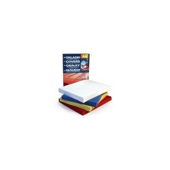 Köitepapp A4 Alfa Delta Lux, 270g/m2, punane