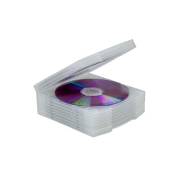 CD karp kinnitatav (attachable case), 10 tk pakendis