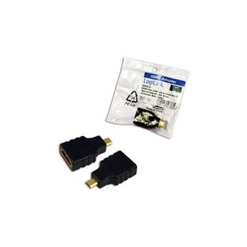 LOGILINK - Adapter HDMI Type A female - Micro HDMI Type D male