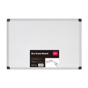 Magnet tahvel Deli valge alumiinium raamiga 1200X2400mm