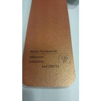 Dekoratiivpaber A4/220g, 20 lk/pk Millenium copper