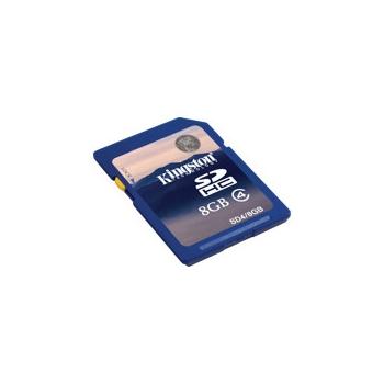 Mälukaart 8GB, Kingston,SDHC,class4
