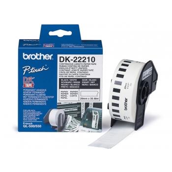 Etikett Brother 29mm rullis 48m.OL500/550