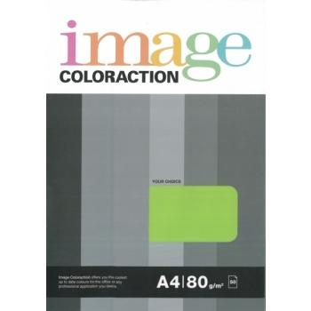 Värviline paber Image Coloraction 80g. 50l/pk. Lime