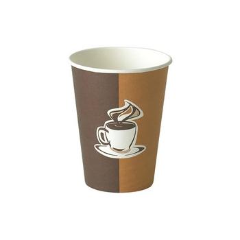 Kohvitops kartong,  250ml. 50tk/pk