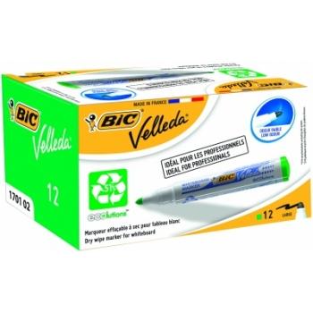 Valgetahvli marker BIC Velleda, 1-5mm, roheline