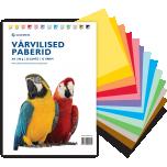 Värvilise paberi komplekt 35 lehte/80g.13 värvi