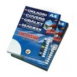 Köitekaas Exclusive A4 0,40mm, must, 50l/pk
