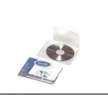 Köidetav CD tasku 1tk.(5tk. pakis), läbipaistev