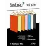 Värviline paber Fashion A4/160g. kirkad toonid MIX 7X10lehte