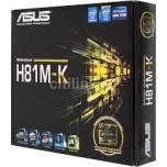 Emaplaat Asus MB H81M S1150 MAXT H81M-K