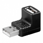 Manhattan Hi-Speed USB adapter A male to A female, 90-degree