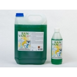San Van Pluss puhastusvahend WC-pottidele happeline, 5l(roheline)