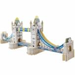 Puidust värvitud 3D puzzle Tower Sild Mini