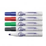 Valge tahvli marker Forpus, eri värvid