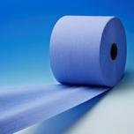 Rullrätik Wepa 2X sinine tööstuslik 350m. 23cm. 1000lehte/rullis