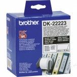 Etikett Brother 50mmx30,48m rullis