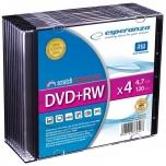 DVD+RWE toorik Esperanza, 4,7GB 4X 120min