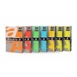 Värviline paber Double A A4/80g.Rainbow (5) 5X100 lehte (Saffron, Red, Parrot, Deep Blue, Lemon)
